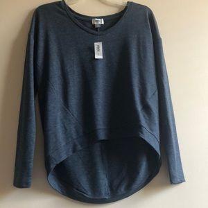 NWT Old Navy Asymmetrical Light Sweater